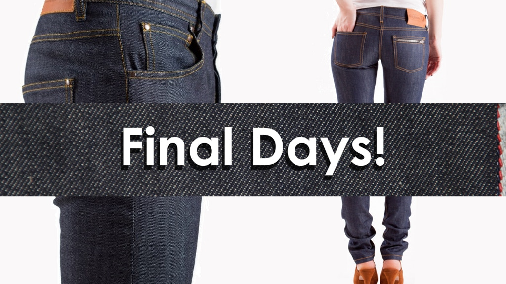 OriJeans: Selvedge Denim Jeans Made-to-Order project video thumbnail