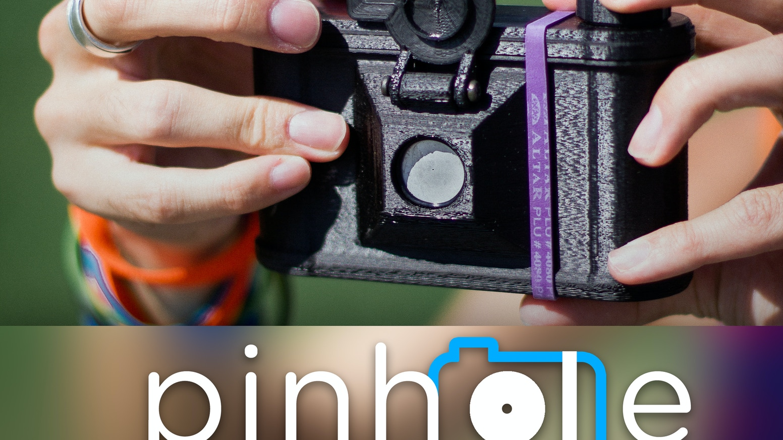 Pinhole - a 3D printed camera. Get one or print your own - either way, take magical photographs from a new, yet old perspective.