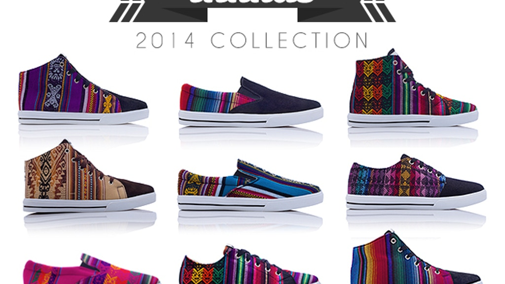 INKKAS - Colorful Handmade South American Sneakers! project video thumbnail