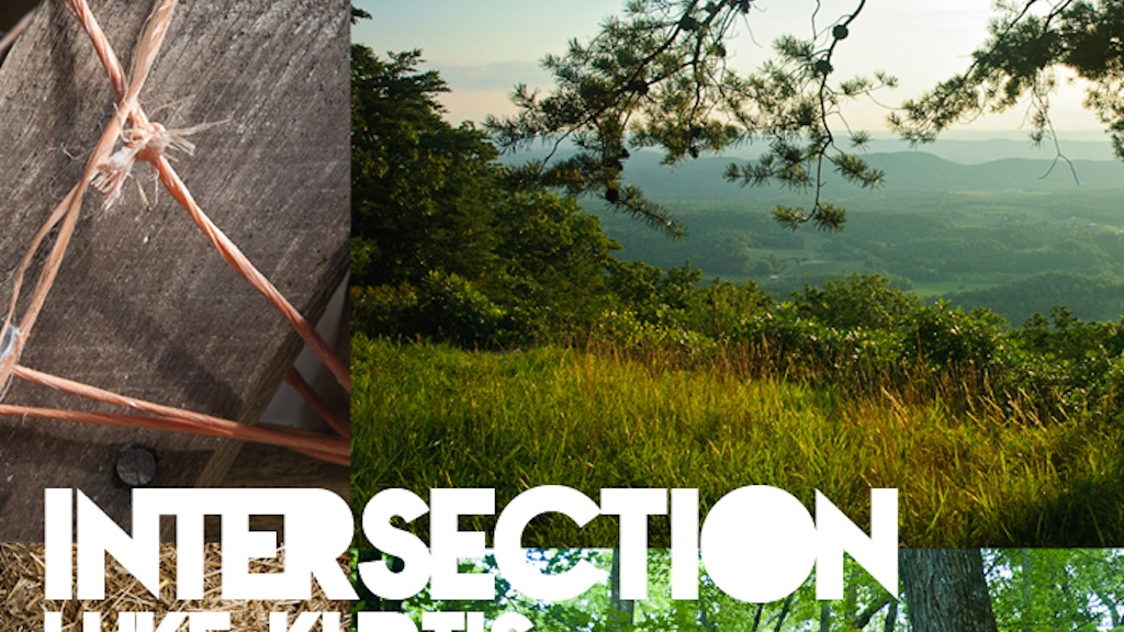 INTERSECTION photographic art exhibition and catalog project video thumbnail