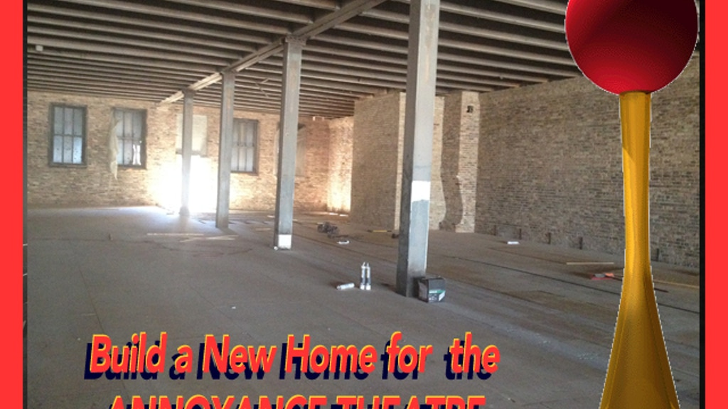 Build a New Home for The Annoyance Theatre project video thumbnail