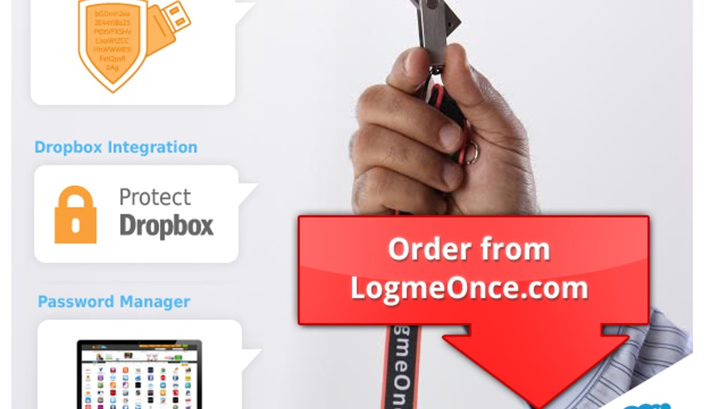 LogmeOnce: The most Secure USB + Password Manager project video thumbnail