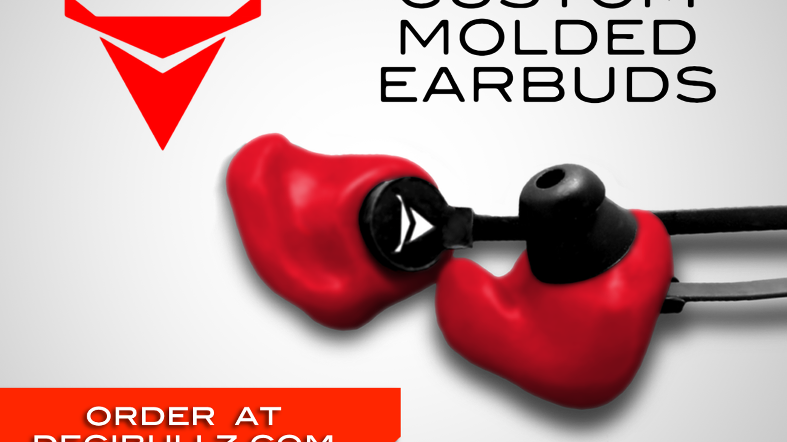Earphones easily and quickly molded to the unique shape of your ears for a perfect-fitting earphone that sounds great and stays put.