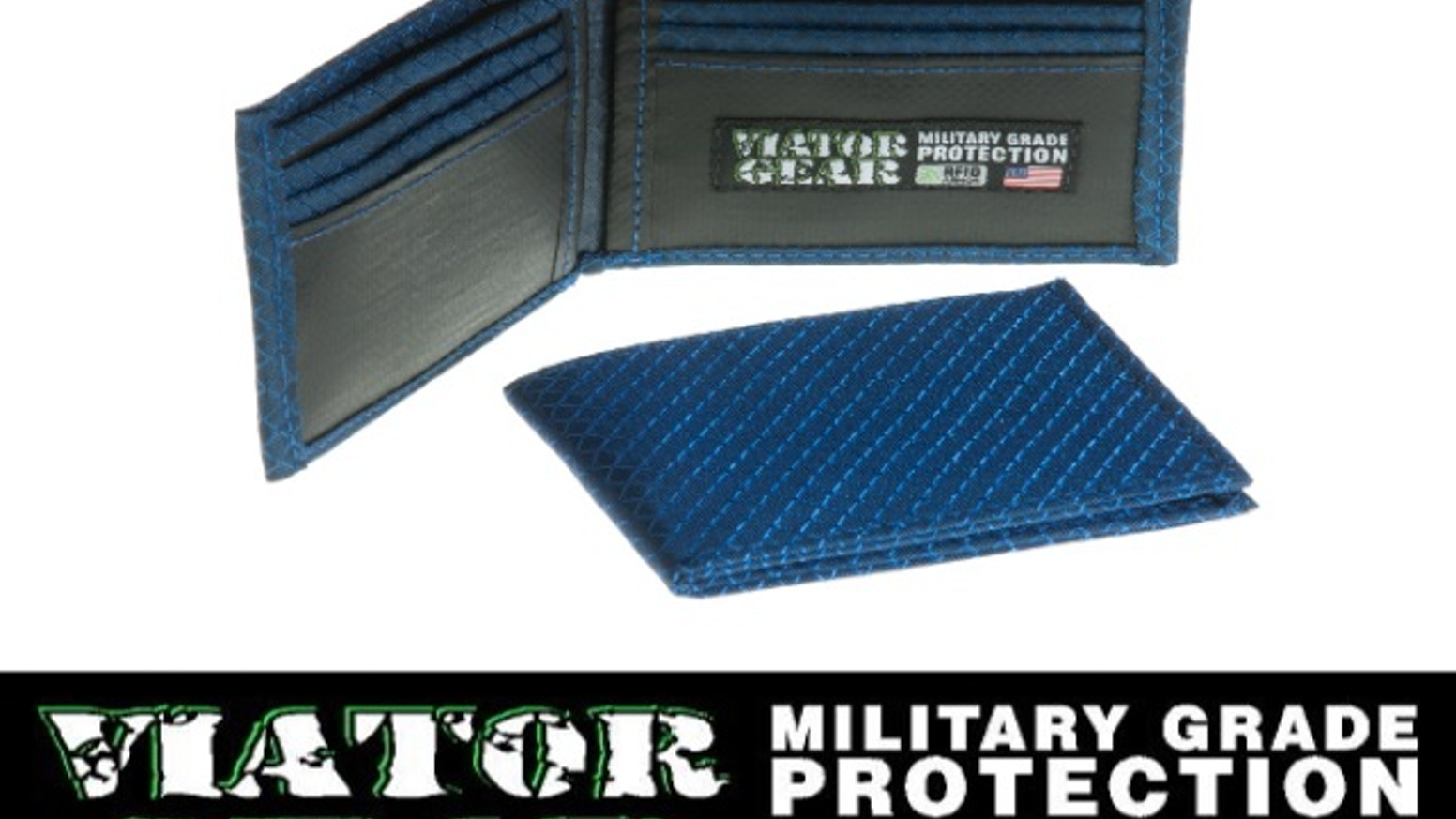 VIATOR GEAR RFID ARMOR Wallet - Made in the USA by VIATOR