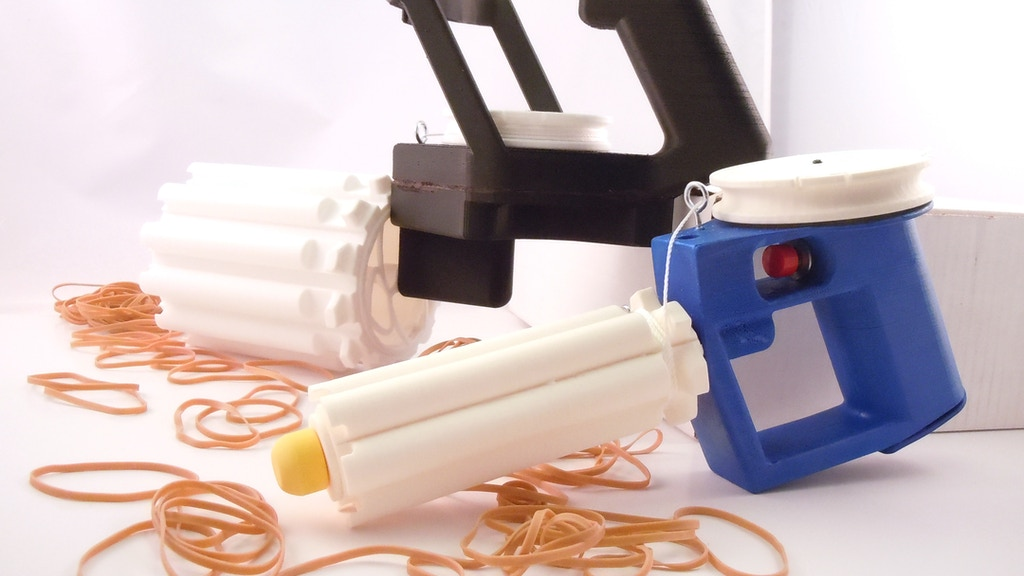 Automatic Rubber Band Blaster Kit! project video thumbnail