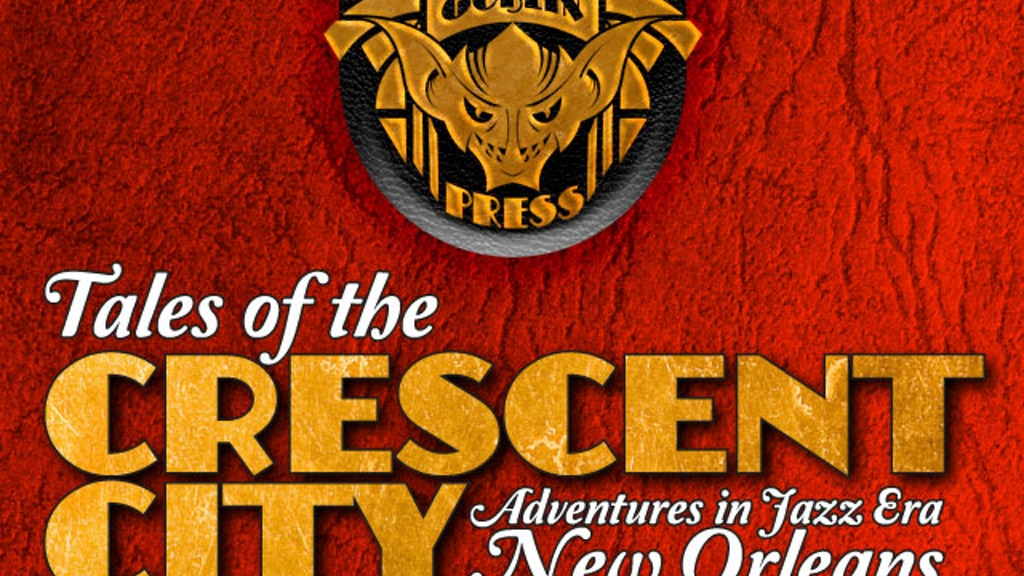 Tales of the Crescent City from Golden Goblin Press project video thumbnail