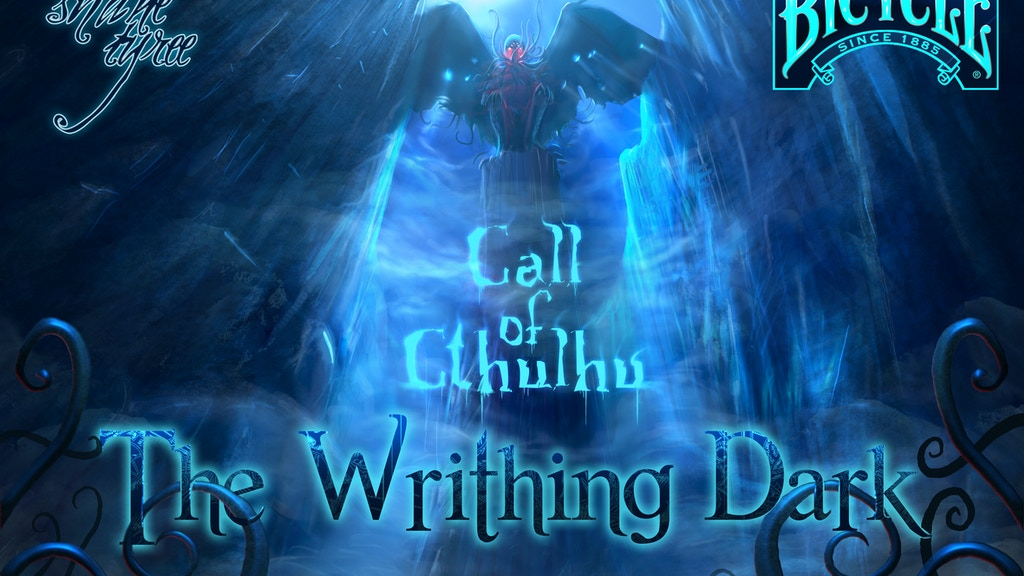 Call of Cthulhu: The Writhing Dark - Playing Cards and Tarot project video thumbnail