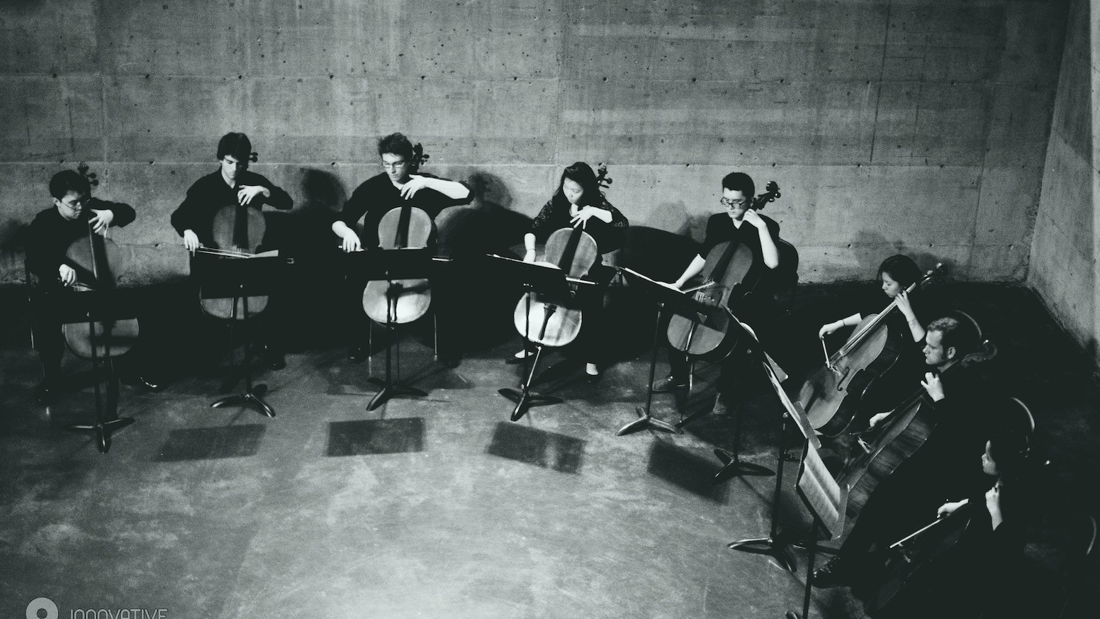 12 cellists, one debut album - featuring a new piece for soprano and a dozen celli.