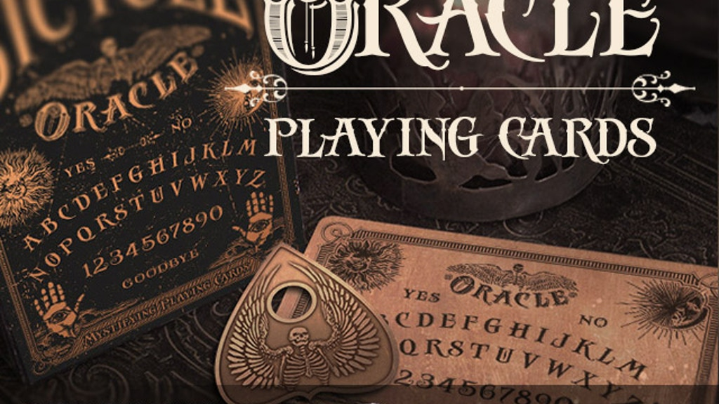 Oracle - Mystifying Playing Cards project video thumbnail
