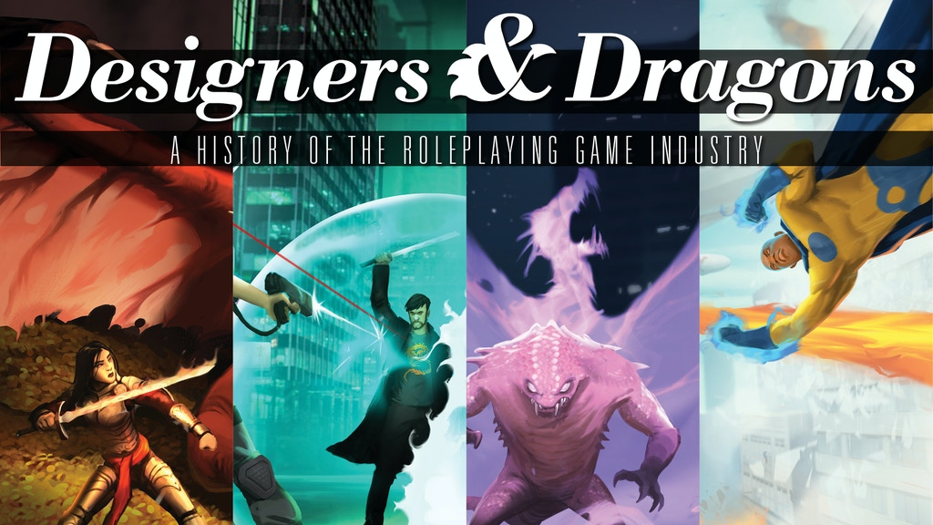 Designers & Dragons project video thumbnail