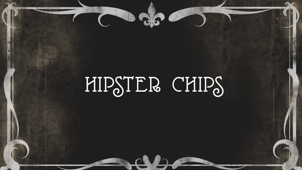 Hipster Chips project video thumbnail