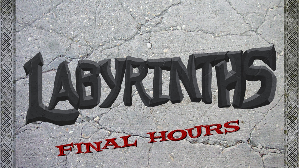Labyrinths: Customized Modular Dungeon Terrain project video thumbnail