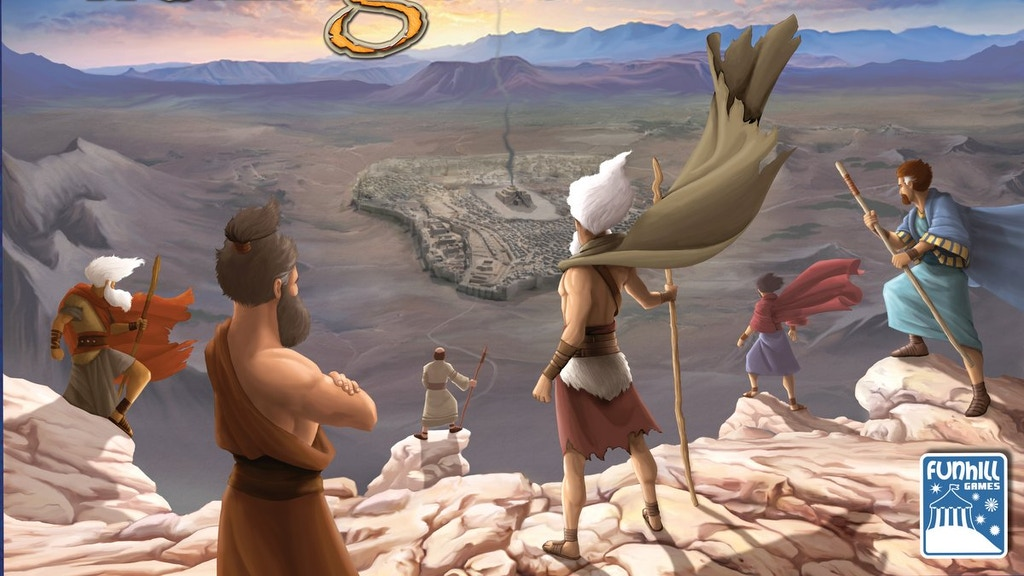 Kings of Israel Board Game project video thumbnail