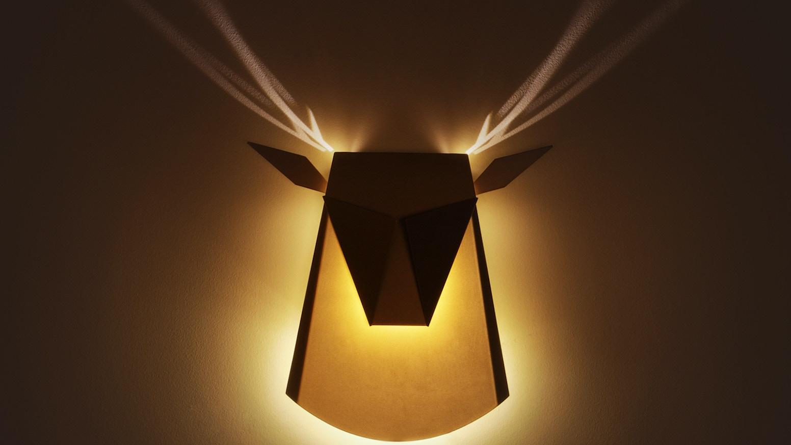 popup lighting when light meets art by chen bikovski kickstarter
