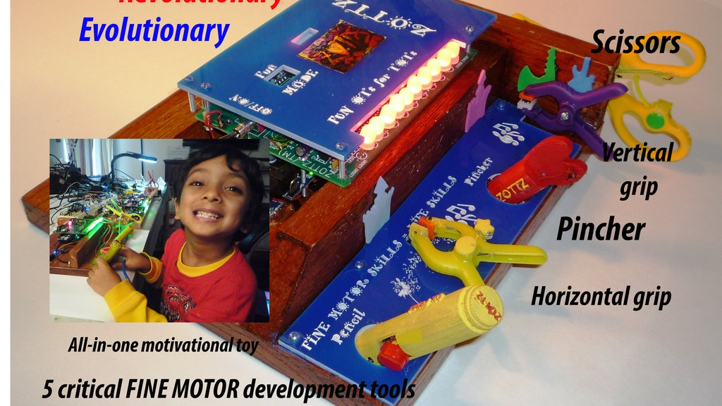 ZOTTZ  -  FUN OTs FOR TOTS - ARDUINO FIGHTING AUTISM project video thumbnail