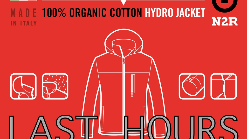 100% Organic Cotton HYDRO JACKET: Naturally Water Resistant project video thumbnail