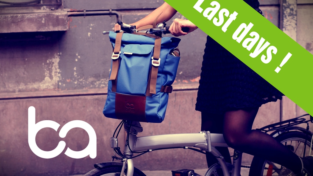 BICLA: comfortable, safe and stylish bike bags. project video thumbnail