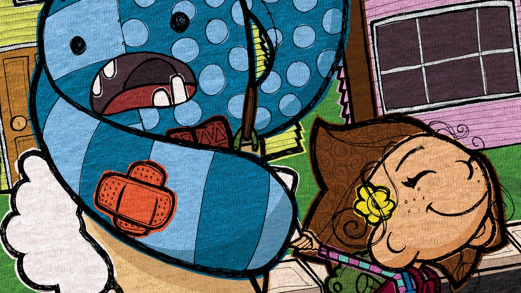 NO MONSTER NO!    Children's Picture Book project video thumbnail