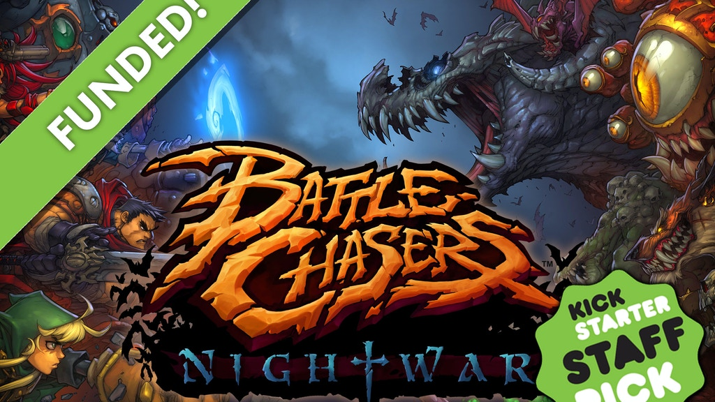 Battle Chasers: Nightwar project video thumbnail
