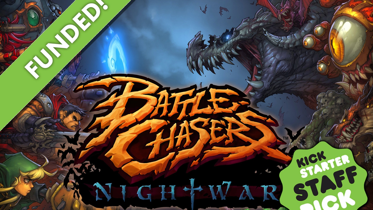Classic JRPG combat meets action packed dungeons and stylish storytelling. Use skills and strategy to survive a lush, brutal landscape. If you missed the campaign, you can still contribute on Battlechasers.com!