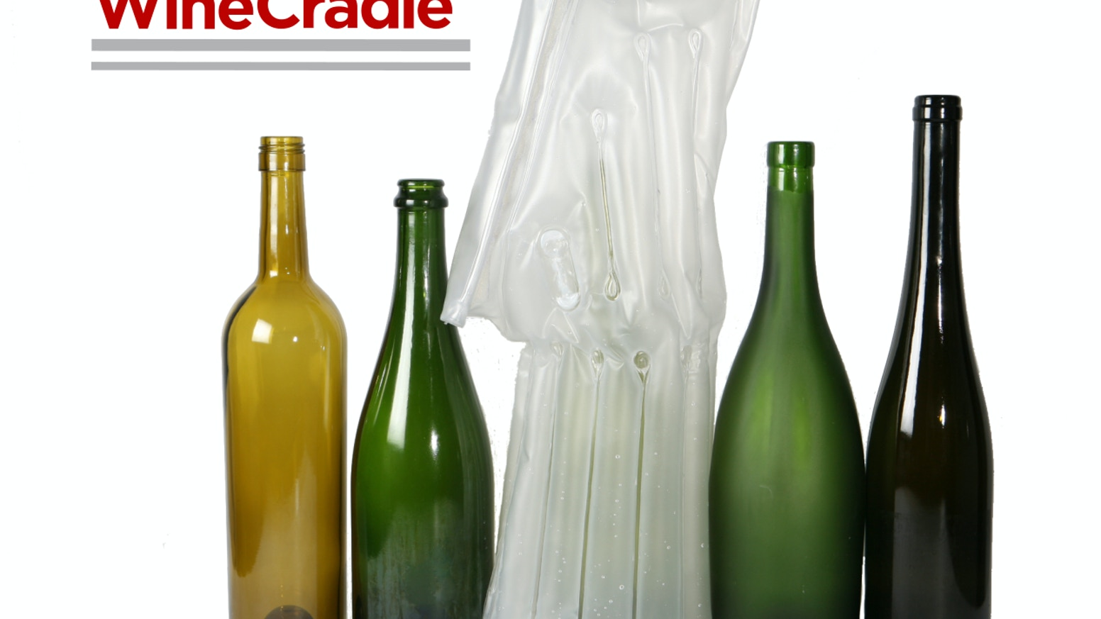 WineCradle is an inflatable, re-usable and water-tight (and wine-tight) way to transport bottles of wine, beer and liquor.