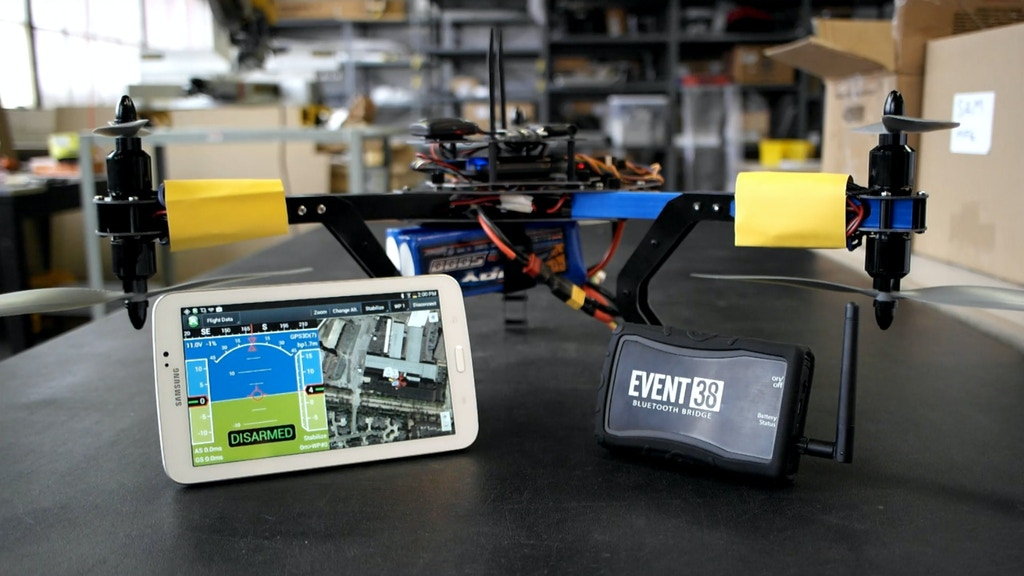 Bluetooth Bridge: Connecting Drones and Tablets/Smartphones project video thumbnail