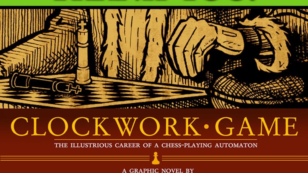 Clockwork Game Graphic Novel project video thumbnail