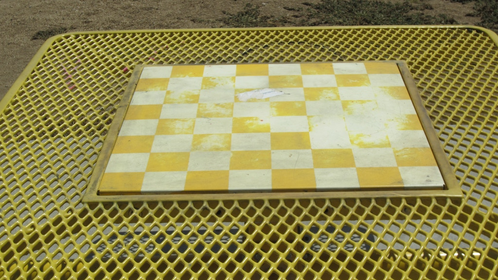 Monopoly In the Park Picnic Table Checkerboard Centerpiece project video thumbnail