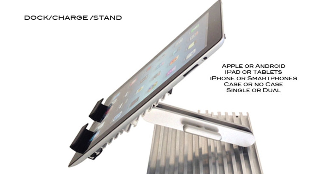 VERSI Docker Stand for iPad, iPhone, Tablets & Smartphones project video thumbnail