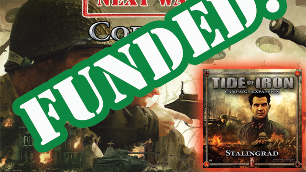 1A's Next Wave/Tide of Iron core set & Stalingrad expansion project video thumbnail