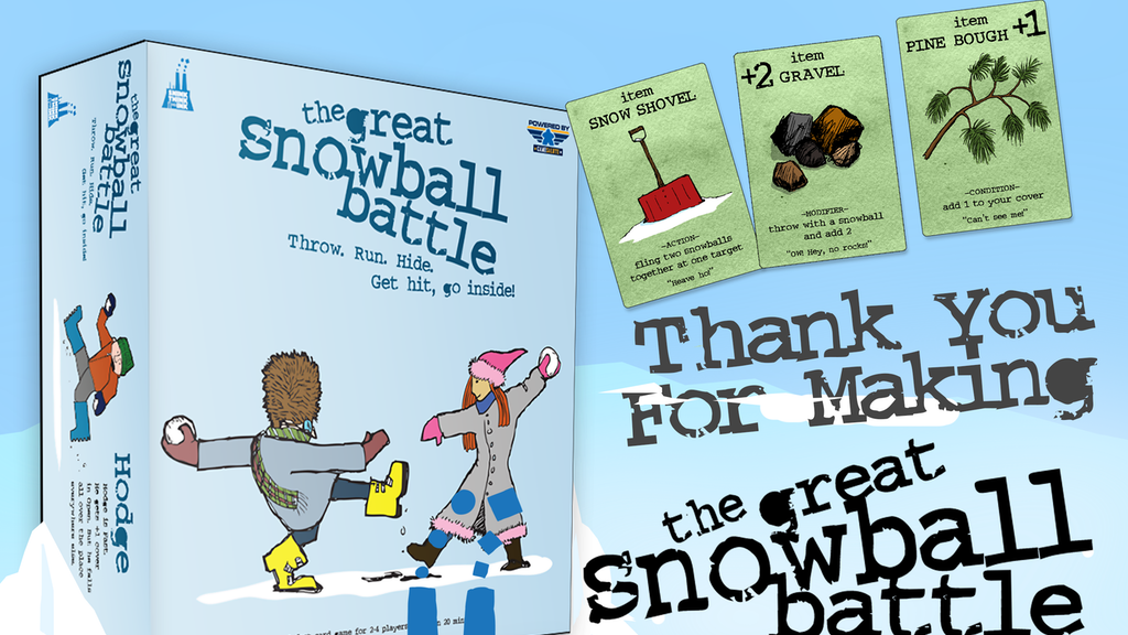 The Great Snowball Battle project video thumbnail