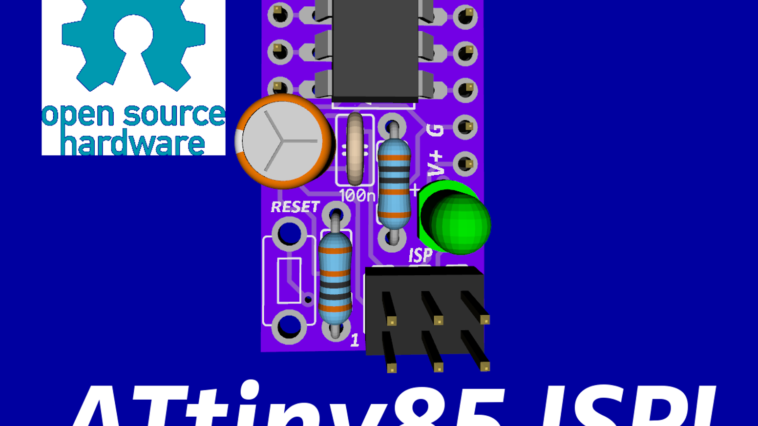ATtiny85 ISP! Shrink your Arduino projects with ease! by Ben ...