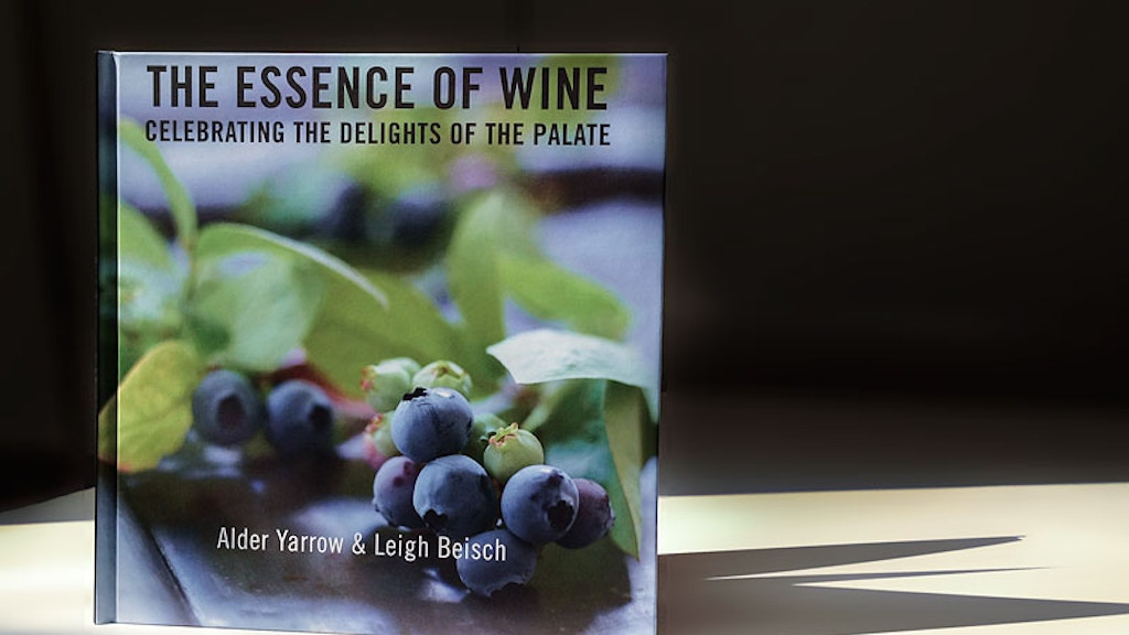 The Essence of Wine Book Project project video thumbnail