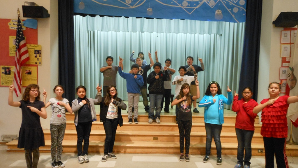 A Rollicking 5th Grade Production Of Fiddler On The Roof