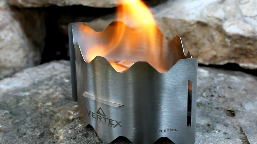 Vertex Ultralight Backpacking Stove project video thumbnail