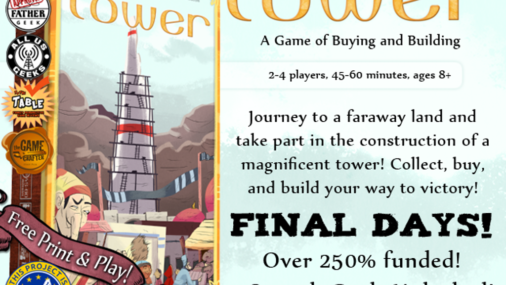 Tower: A Board Game of Buying and Building project video thumbnail