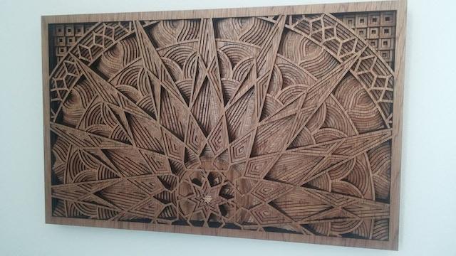 Wood 247 Lasers Art By Gabriel Schama Kickstarter