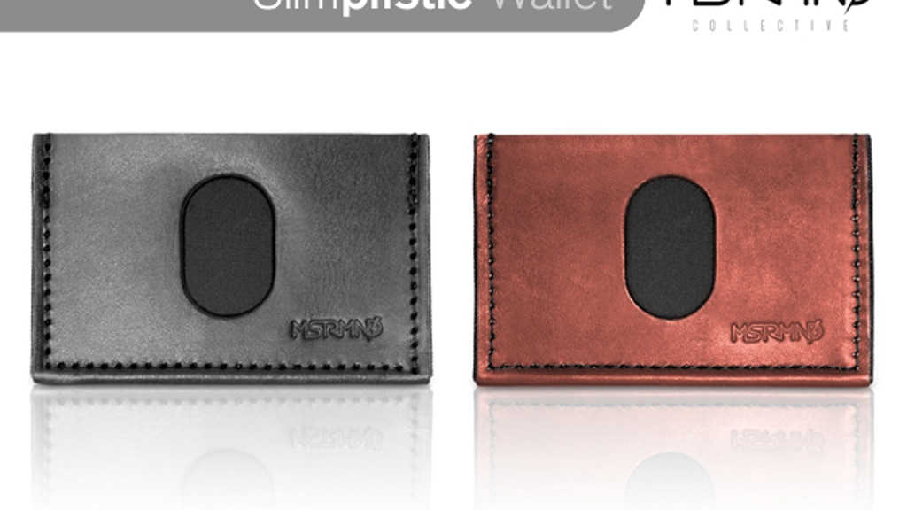 SLIMplistic Wallet project video thumbnail