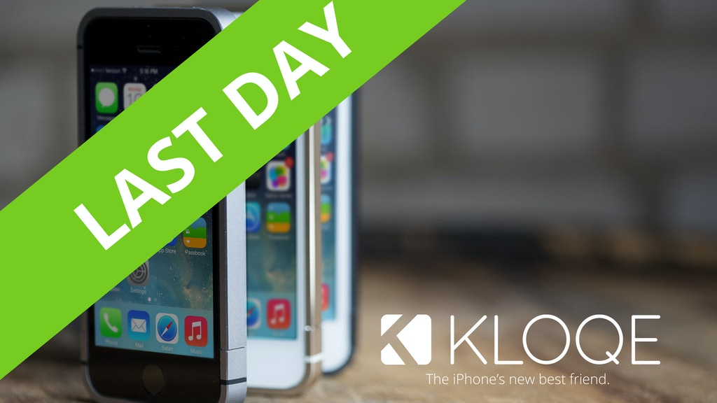 KLOQE: Minimalist all-aluminum iPhone Case project video thumbnail