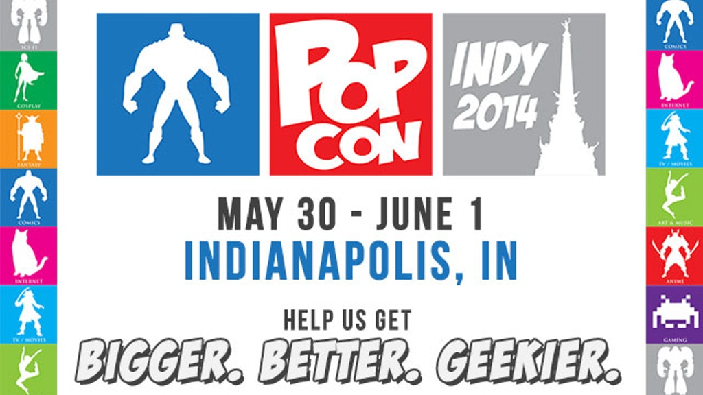 Indy PopCon 2014 - Comics, Gaming, Culture, and more! project video thumbnail