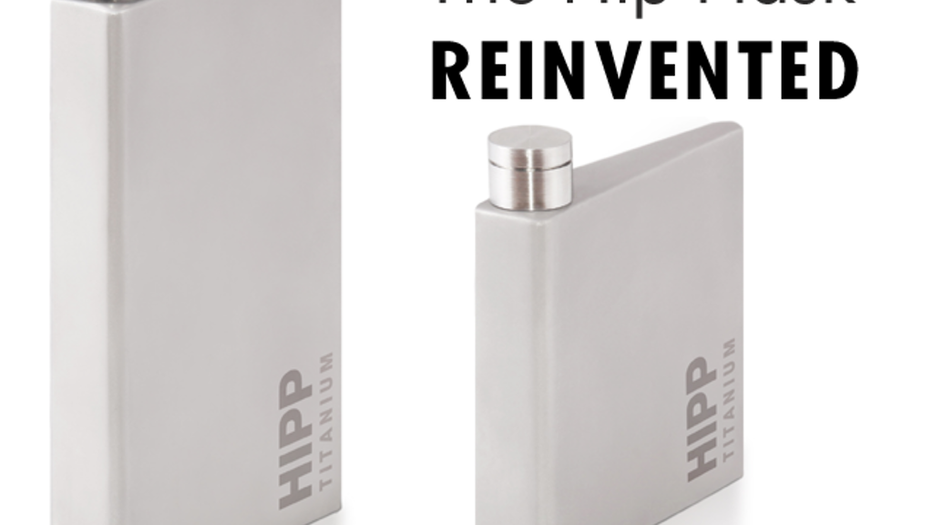 HIPP Titanium: The hip flask reborn in Titanium project video thumbnail