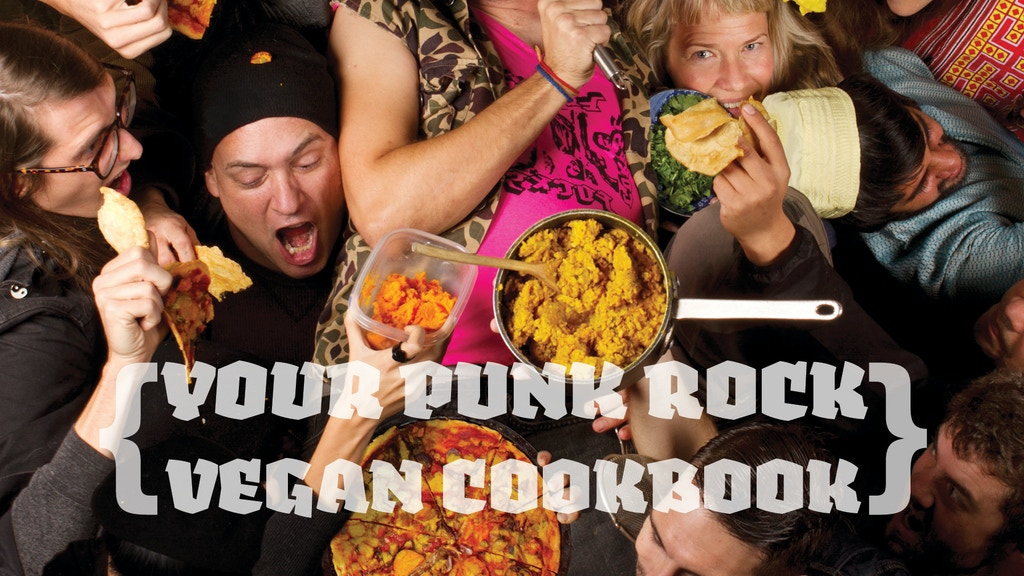 This Ain't No Picnic: Your Punk Rock Vegan Cookbook project video thumbnail