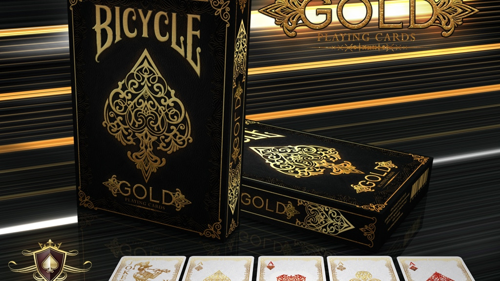 GOLD Bicycle® Playing Cards Deck project video thumbnail