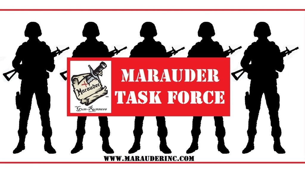 Marauder Task Force Gaming Figures project video thumbnail