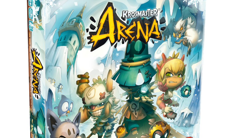 Krosmaster Arena Anime Miniatures Game - Frigost Expansion project video thumbnail