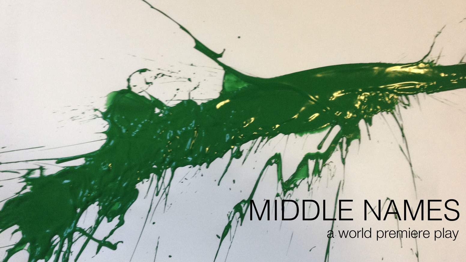 Middle Names: A World Premiere New Play by Corey O'Hara — Kickstarter
