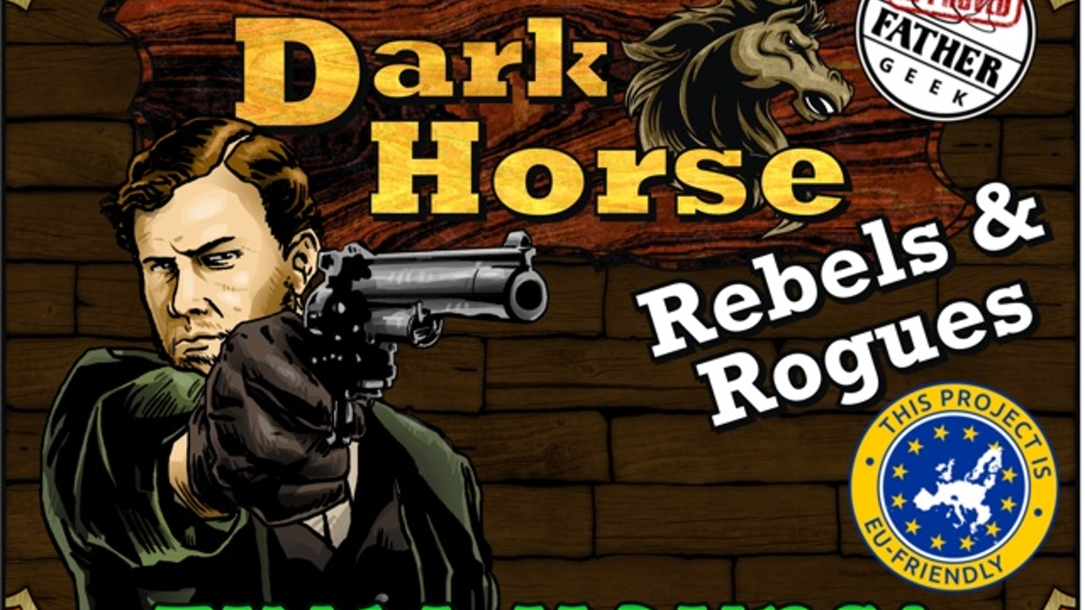 Players build technologies and take sides with notorious gunfighters and heroes of the Wild West in this expansion to Dark Horse.