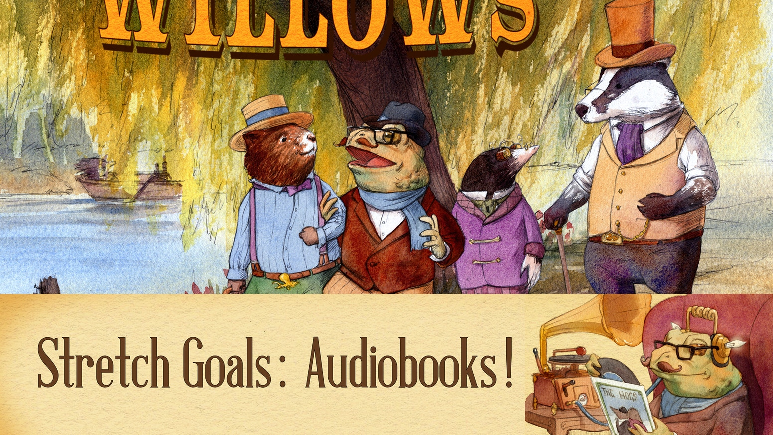 Steam in the Willows - a zietgeist take on a classic tale by