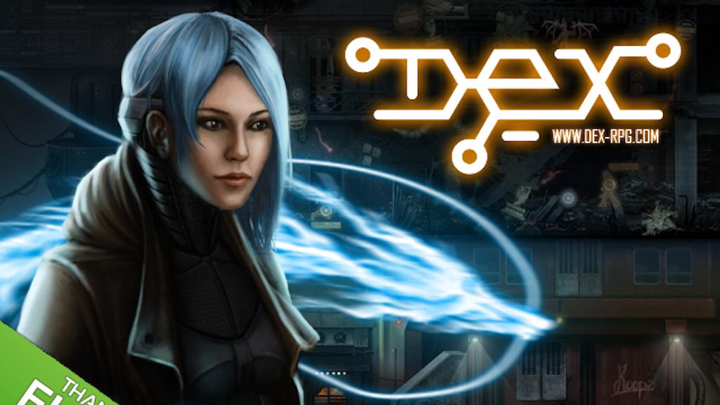 Dex - Cyberpunk 2D RPG project video thumbnail