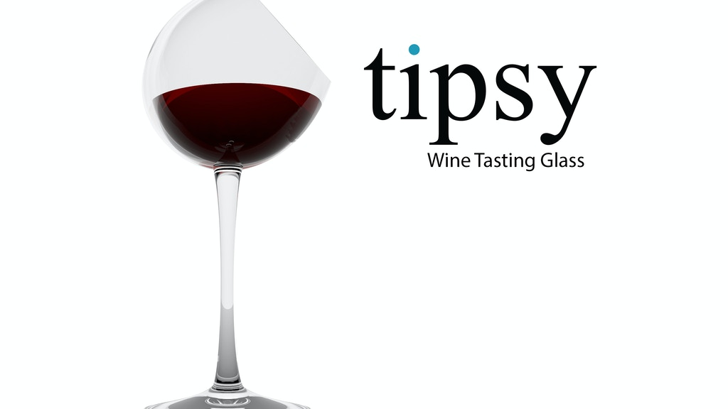 Tipsy Wine Tasting Glass project video thumbnail